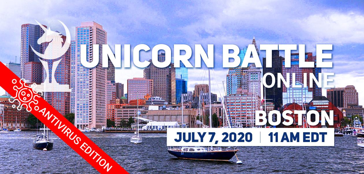 Online Unicorn Battle in Boston