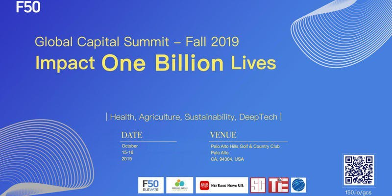 F50 Global Capital Summit Fall 2019 - Impact One Billion Lives