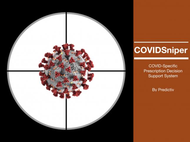 Photo - COVIDSniper: COVID Prescription Decision Support System
