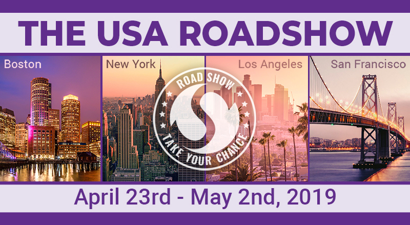 USA Road Show, 4 Events - One Trip