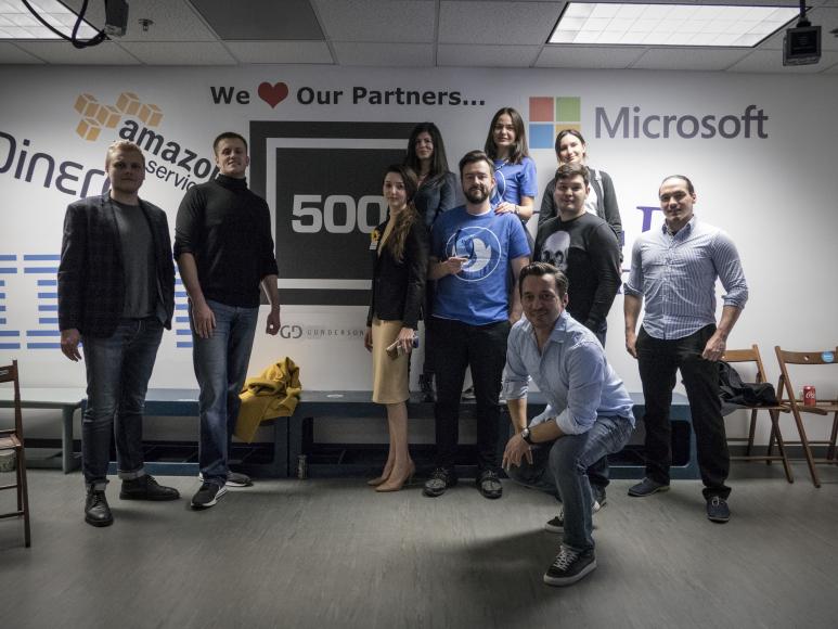 15 ноября в Калифорнии состоялся Intercontinental Startup Battle
