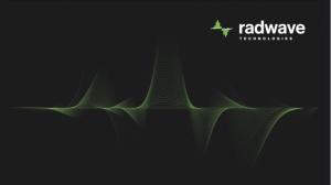 Photo - Radwave Technologies Inc.