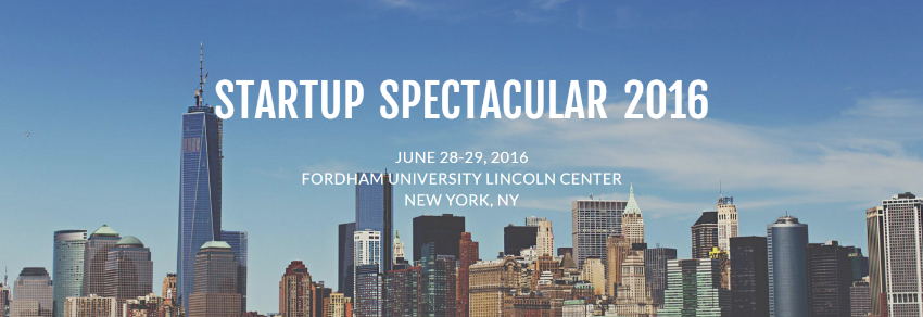 Startup Spectacular 2016