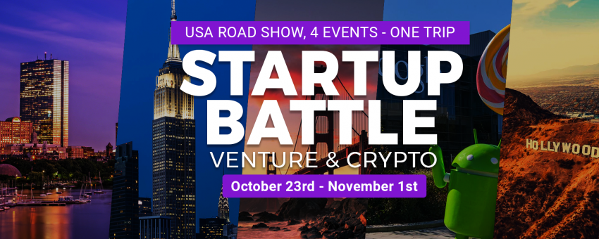 4 Startup Battles, Venture & Crypto in the USA!