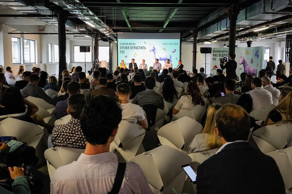audience of the Startup Battle